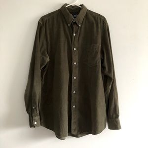 CHAPS Corduroy Button Down Shirt